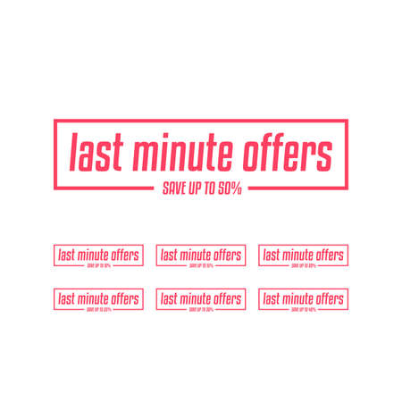 Last Minute Offers to 50% Labels