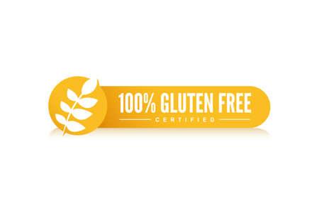100% Gluten Free Label