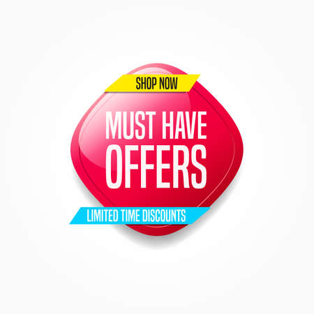 Must Have Offers Shop Now Label