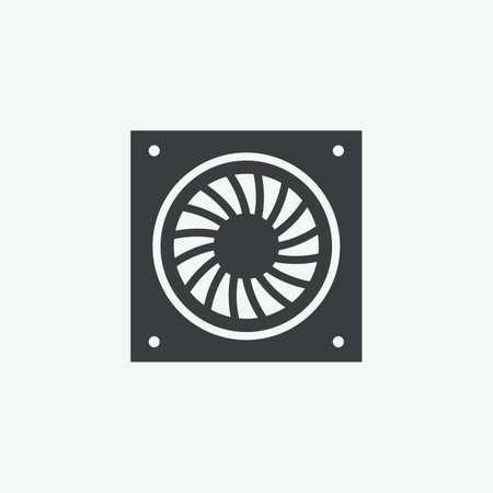 Computer Fan Vector Icon