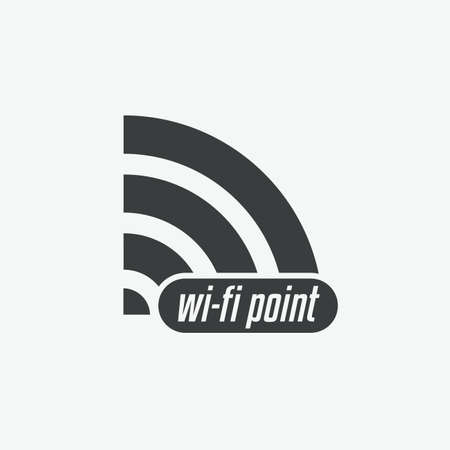 Wifi Point Vector Icon