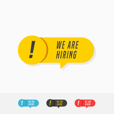 We Are Hiring Tags