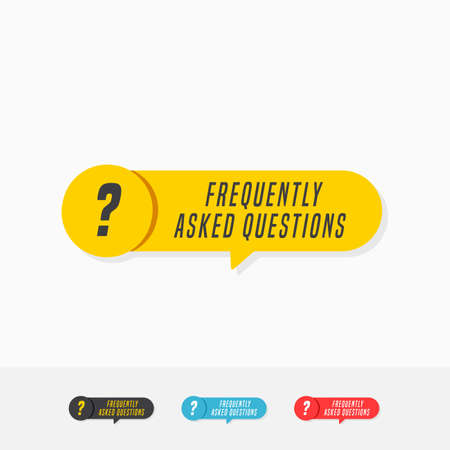 Frequently Asked Questions Tags Иллюстрация