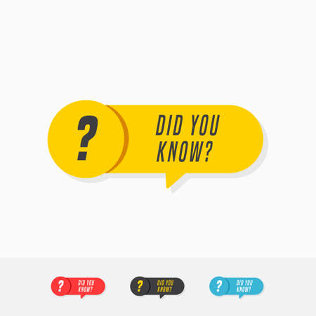Did You Know Tags