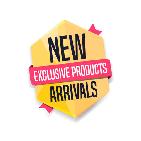 New Arrivals Shopping Label
