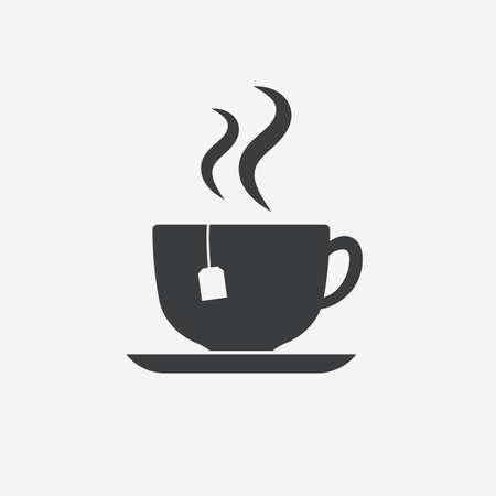 Tea Cup Vector Icon Stock Vector - 124810976