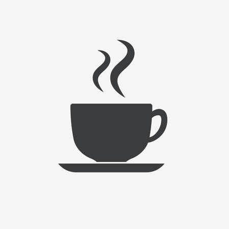Coffe Cup Vector Icon Illustration