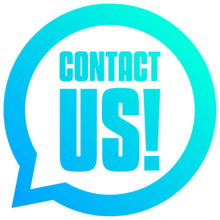 Contact Us Bubble Tag