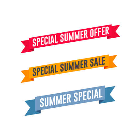 Special Summer Offer & Sale Shopping Tags
