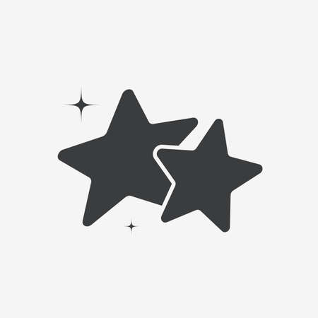 Stars Shine Flat Vector Icon