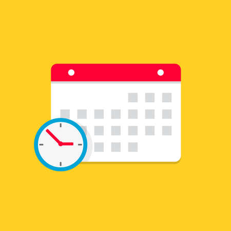 Calendar Month Color Vector Icon