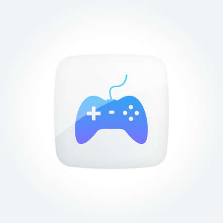 Gamepad Modern Gradient Icons Set