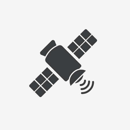 Satellite GPS Flat Vector Icon