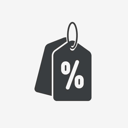 Sale Price Tag Flat Vector Icon