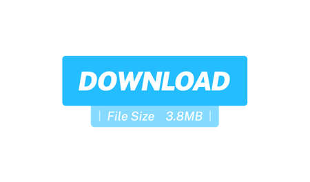 Download & File Size Flat Web Button Stock Illustratie