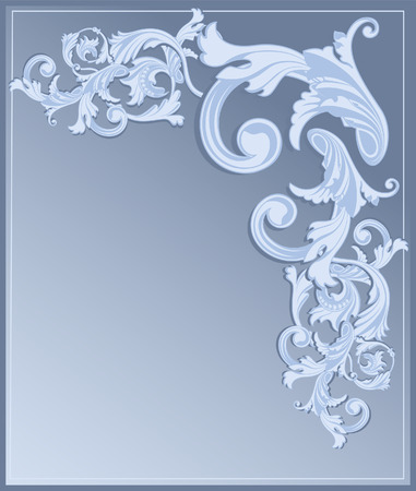 celtic culture: Blue Revival background, file included Illustration
