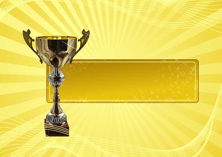 trophy winner: Winners_frame, vector illustration, file included