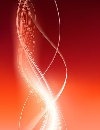 wallpapper: Red wallpapper astratto, vettore illustation, inclusi file EPS