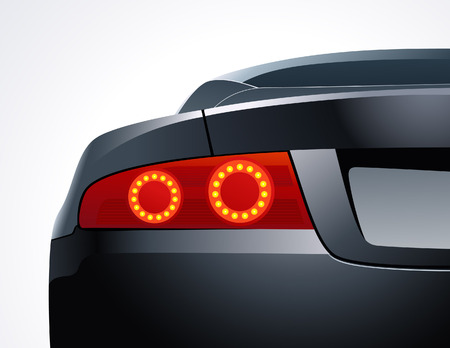 scheinwerfer: Autos R�ckfahrscheinwerfer, vector illustration, EPS-Datei enthalten Illustration