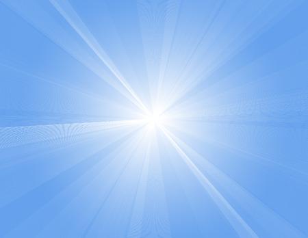 wallpapper: Sun rays, vector illustration, file included Illustration