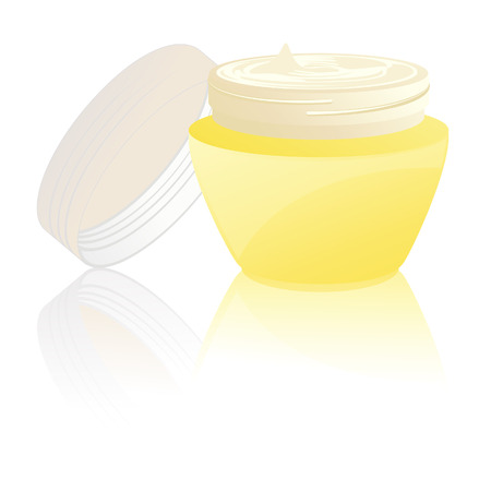 Creme, vector illustration, file included Vector