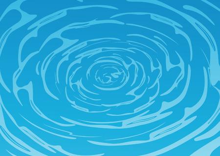 Wasser Vortex, Vektor-Illustration, EPS-Datei enthalten  Lizenzfreie Bilder - 6222090