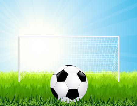 crossbar: Penalty kick,  illustration, Illustration