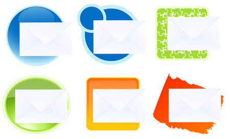 Message icons,  vector illustration, EPS file included Stock Vector - 6570681