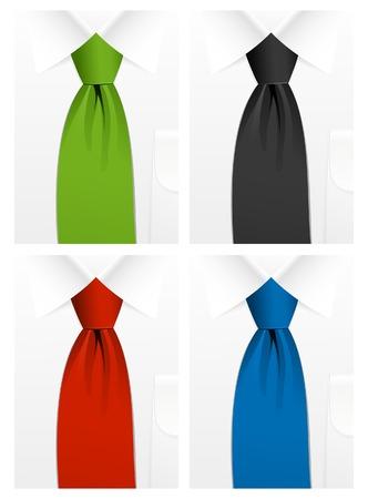 cravat: Tie, illustration Illustration