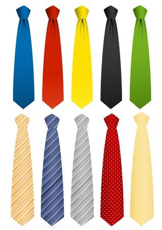 corbata negra: Conjunto de corbata