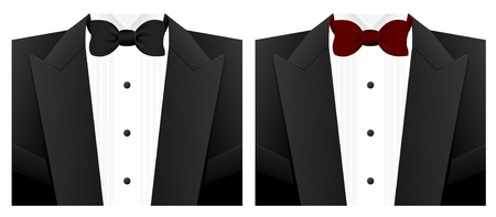 solemn: Bow tie Illustration