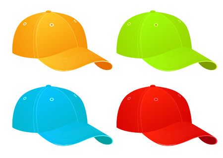 baseball cap: Caps, illustration