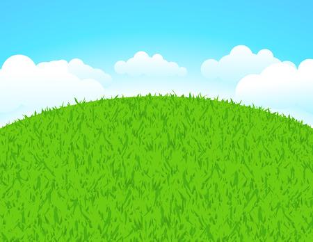 grass plot: Green land