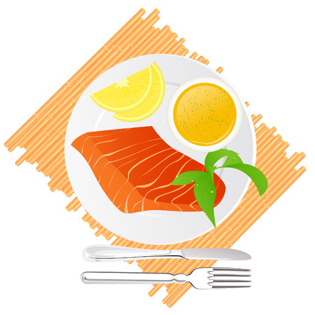 gravy: Seafood delicacy, illustration
