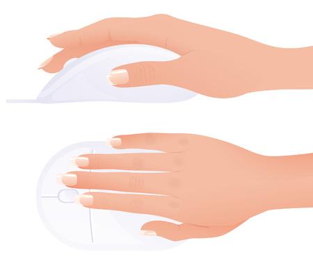 finger ring: Mouse,  illustration