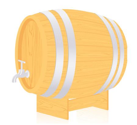 Barrel,   illustration  Vector