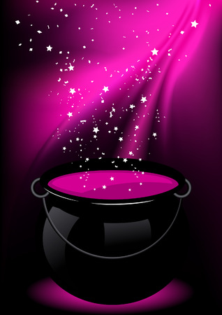 Magic potion,  illustration  Stock Vector - 7637848