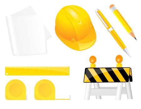 centimetre: Construction objects,   illustration