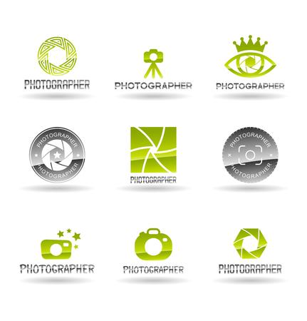 Photo icons set.