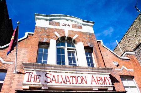 The salvation army home in London