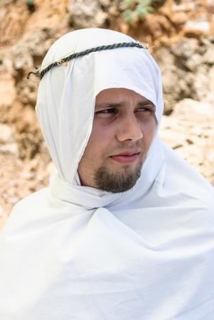 religious clothing: man in Arab dress