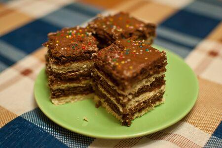 Three pieces of cake  Stock Photo - 12745001