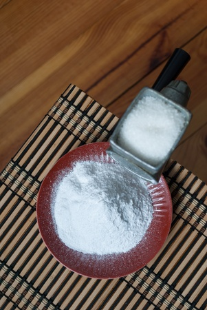Grinding of sugar to the powder  Stock Photo - 12948966