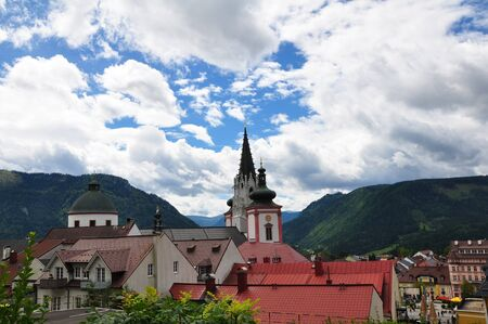 Mariazell in Austria Stock Photo - 18255846