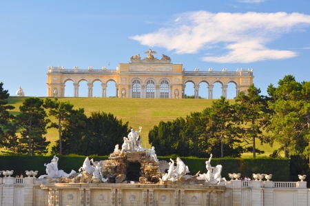 the gloriette: Gloriette, Castle Schonbrunn, Vienna