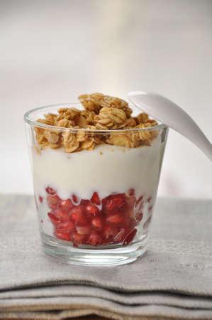 Pomegranate Cereal Stock Photo - 18288307