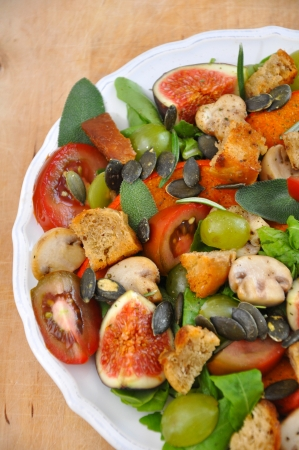 Pumpkin Salad with Figs photo