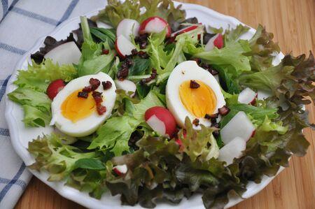 Fresh vegetable salad Stock Photo - 18311222