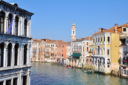 venecian: Canale Grande in Venice, Italy Stock Photo