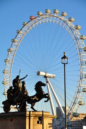 London eye Stock Photo - 18329386